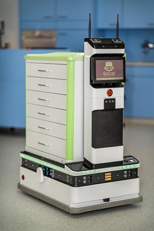CES 2019 Lidar Sensor, Logistics Robot GoCart120 Demonstration