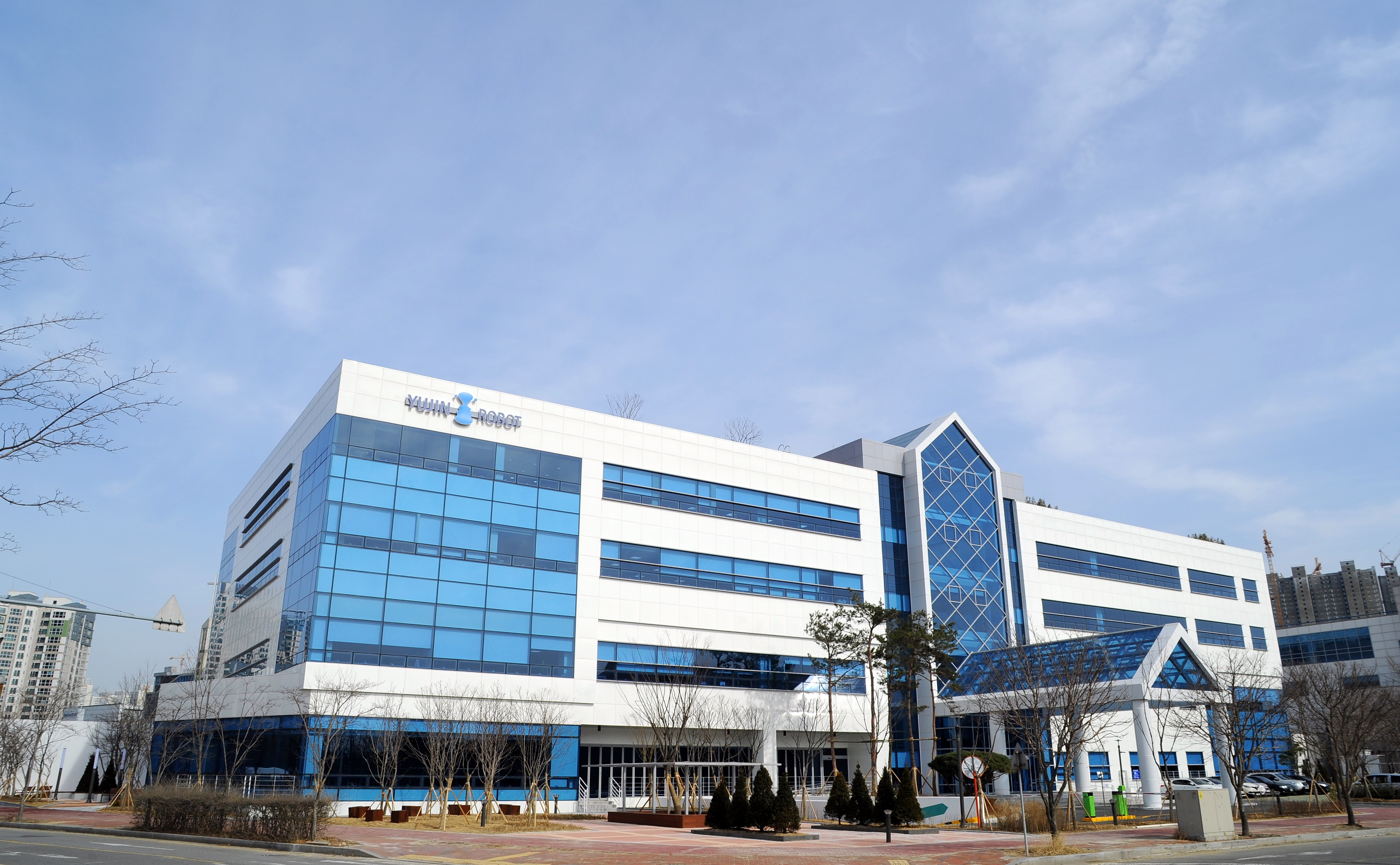 New office building in Songdo, Incheon