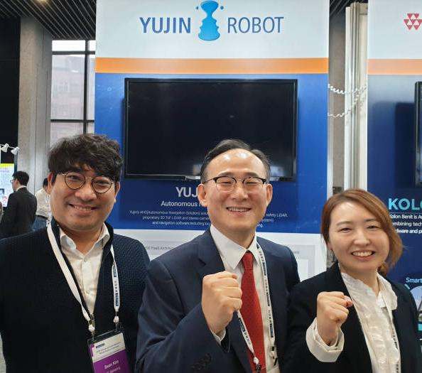 """유진로봇 라이다/ANS 세계가 주목 """"3등 제품 1등 만드는 로봇융합 모델"""""""