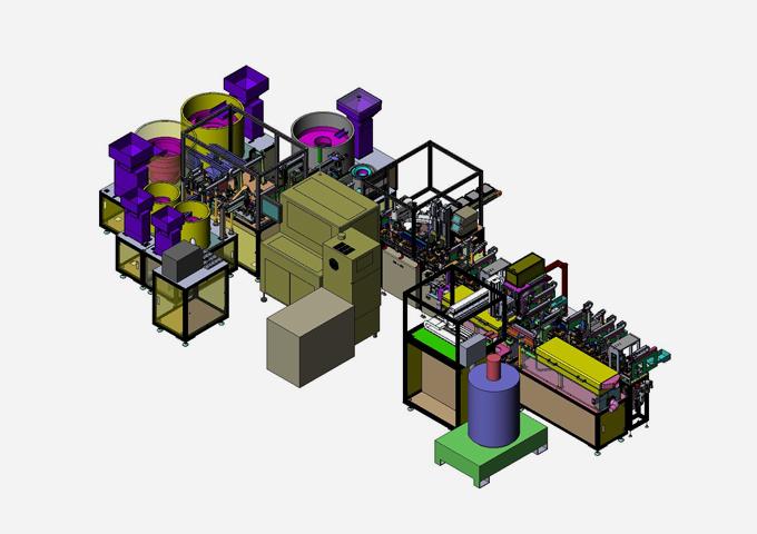 Wheel Unit Assembly & Test Line