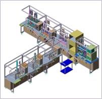 E-EGR Valve(Diesel Engine용)조립 및 검사 Line