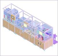 Solenoid valve(Diesel Engine용) 조립 및 검사 Line