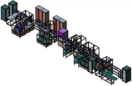 Accelerator Pedal 조립 및 검사 Line