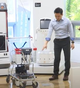 언택트 시대의 총아 '로봇'…유진로봇, 솔루션 기업으로 도약