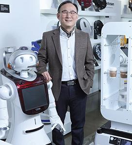 [한국 로봇산업 이끄는 혁신기업] 박성주 유진로봇 대표