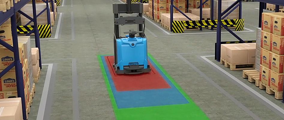 Autonomous forklift, driverless